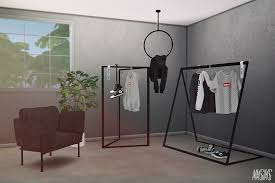 S4CC MMSIMS Clothes Rack Set