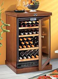 Tresanti Wine Cabinet Zinfandel by Wood Wine Cooler Wine Fridge Wood Cabinet Wood Encased Wine Cooler