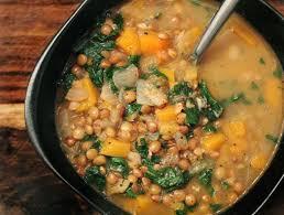 Pumpkin Butternut Squash Soup Vegan by French Green Lentil U0026 Butternut Squash Soup Yumuniverse