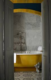Yellow Grey Bathroom Ideas by Laissons Laissons Entrer Le Soleil Mustard Gray And Bathroom