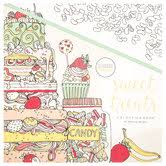 Sweet Treats Coloring Book