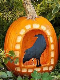 Bruce The Shark Pumpkin Stencil by 40 Creative Pumpkin Carving Ideas Via Brit Co Crafts