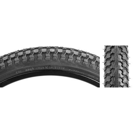 "Sunlite Cst727 Bicycle Riding Raised Center Tire - 20"" x 2.125"", Black"