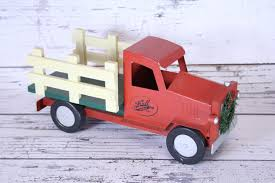 Vintage Hallmark Hall Bros Farm Toy Truck Metal Classic Pickup Car ...