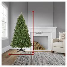 7ft Christmas Tree Pre Lit by 7ft Prelit Artificial Christmas Tree Douglas Fir Clear Lights
