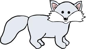 Arctic fox clipart Clipartix