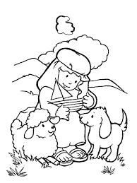 David The Shepherd Boy Coloring Pages 19 Cartoon