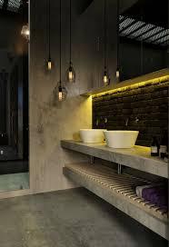 industrial design badezimmer pendelleuchten waschtisch