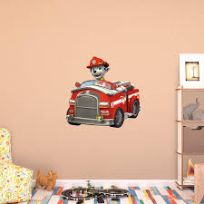 100 Fire Truck Wall Decals Fathead PAW Patrol Marshalls Decal Walmartcom