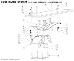 Inter Fab Edge Diving Board And Stand Parts