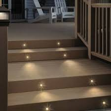 Solar Lights For Deck Stairs by Deck Step Lights Prevent Trips And Falls And A Recessed Led Step
