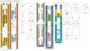Azamara Journey Deck Plan 2017 by Legend Of The Seas Deck Plans Diagrams Pictures Video