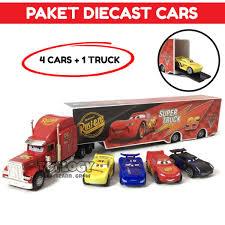 Bandingkan Harga Cars Lightning McQueen And Mack Truck Dan Tempat ...