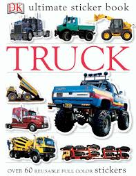Ultimate Sticker Book: Truck: DK: 0690472002390: Amazon.com: Books