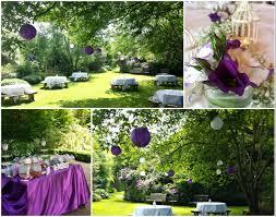 Shades Of Purple Garden Wedding Drinks Reception At The Glenview Hanginglanterns Weddingdecor Wicklow