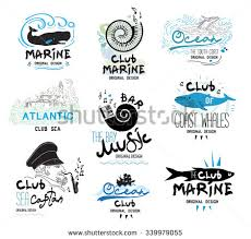 Set Of Retro Clubs And Bars Logo Emblems Design Elements Icons To The