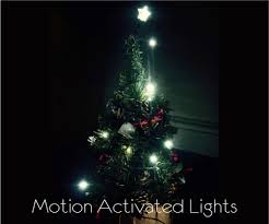 Picture Of Motion Activated Christmas Lights