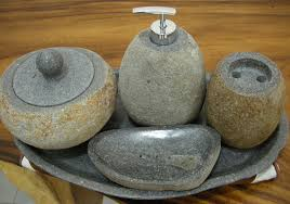 Stone Bathroom Accessories Indogemstone Best Rustic Style Home