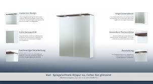 bad spiegelschrank bijapur 04 farbe rot glänzend 73 x 61 x 14 cm h x b x t