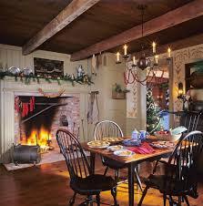 weihnachtlich geschmücktes esszimmer mit bilder kaufen