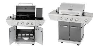 Nexgrill 4 Burner Propane Gas Grill with Sear Side Burner and