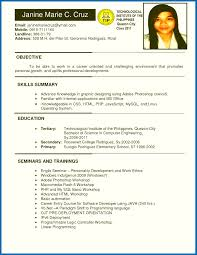Example Resume For Ojt Business Administration Students Inspirationa Objective Atemberaubend General Career