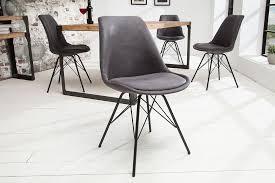 retro stuhl scandinavia meisterstück antik grau schwarzes