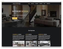100 Cool Interior Design Websites 27 Best Responsive Website Templates 2019
