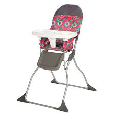 Graco Blossom High Chair Waterloo by Cosco Simple Fold High Chair Choose Your Pattern Walmart Com