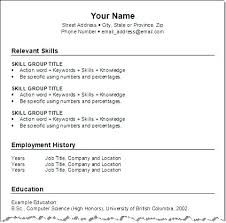 Resume Format Word Functional Template Marriage File Download