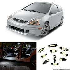 2001 2005 honda civic ep3 si interior led lights package