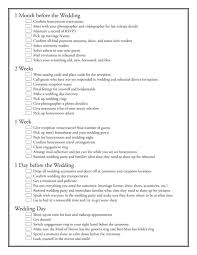 Emejing Wedding Reception Checklist Pdf Pictures
