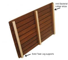 Think Of A Teak Insert As Wooden Grid With Feet Some Have Anti Bacterial Runners Or Strips On The Bottom Planked Surface Water Runs Through
