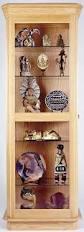 curio cabinet curio cabinet staggering corner plans free for