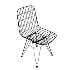 animal design metallstuhl strong esszimmerstuhl retro küchenstuhl bistro animal design