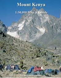 Mount Kenya Map And Guide 150000