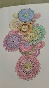 Completed From Colorama Coloring Book Color Me Happy