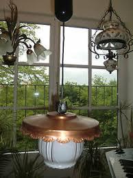 details zu hängele le kupfer schmiedeeis glas landhaus gasthaus erker esszimmer flur