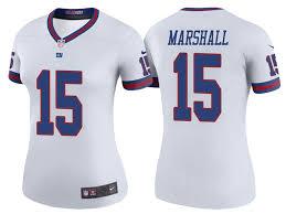 Brandon Marshall Giants White Color Rush Legend Jersey