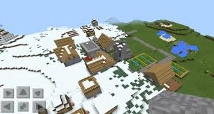 Best Pumpkin Seed Minecraft Pe by 1410403532 Snow Village Minecraft Pe Seeds
