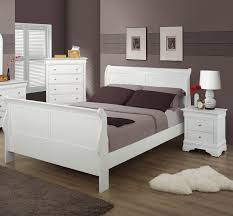 twin promo white louis philippe sleigh bed by bernards home
