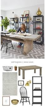 Genevieve Gorders Rustic Home Office Featured Recreated For Less By Copy Cat Chic
