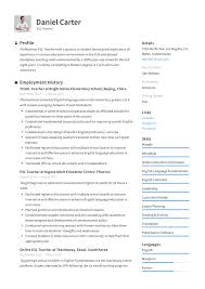 ESL Teacher Resume Sample & Writing Guide   Resumeviking.com Summary Profiles For Biochemistry Rumes Excellent How To Write A Resume That Grabs Attention Blog Customer Service 2019 Examples Guide Of Qualifications On 20 Statement 30 Student Example Murilloelfruto Science Representative Samples Security Guard Mplates Free Download Resumeio Resume Of A Professional For 9 Career Pdf Genius Profile Writing Rg One Page Executive Luxury
