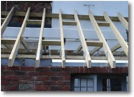roof hangers joist hanger fixed to face of wall plate