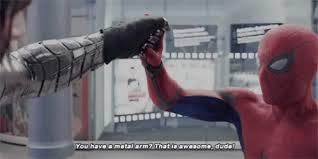 Bucky Spiderman GIF