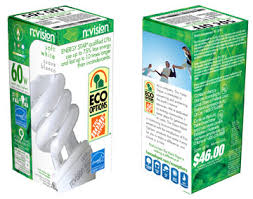 home depot n vision cfl light bulb sustainable is eco products