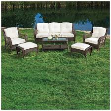 Wilson And Fisher Patio Furniture Replacement Cushions by Wilson Fisher Patio Furniture Wilson U0026 Fisher Cayman 6 Piece