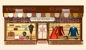 Mall Clipart Clothing Store 7