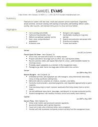 Resume Examples For Fast Food Manager 24 Pdf Service Best