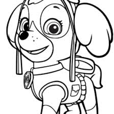 Coloring Pages Paw Patrol Kids Drawing And Coloring Pages
